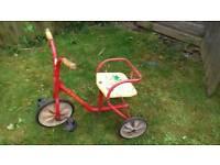 Vintage raleigh toddler tricycle