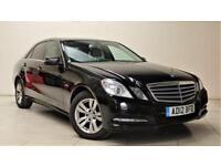 MERCEDES-BENZ E CLASS 2.1 E220 CDI BLUEEFFICIENCY S/S SE 4d AUTO 170 BHP (black) 2012