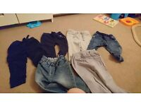 18 to 24 month boys trousers bundle