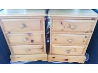 Large Kerris Pine Bedside Tables