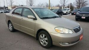 2006 Toyota Corolla LE..LOW LOW KMS..A MUST SEE