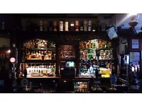 Permanent bar staff wanted for family run pub.