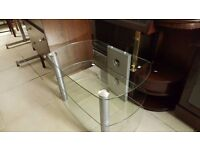 Small Glass TV Unit in Great Condition