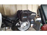 motorcycle lugage