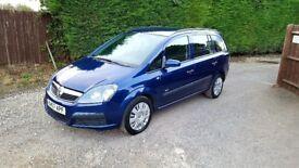 Vauxhall Zafira 1.6 petrol 7 seater 12month mot great runner