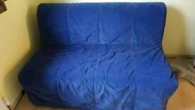 Ikea lycksele havet double bed