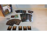 Dixit Odyssey and Avalon The resistance Full board games