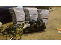 ps2 console with 57 games