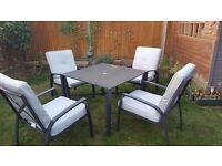 Classic Patio Set - Table and 4 chairs