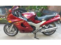Kawasaki ZZR1100D. 27500 miles. MOT to May