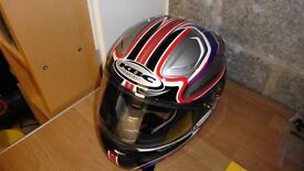 KBC Motorcycle Helmet VR1 As new condition with a Fog City Insert (Large)
