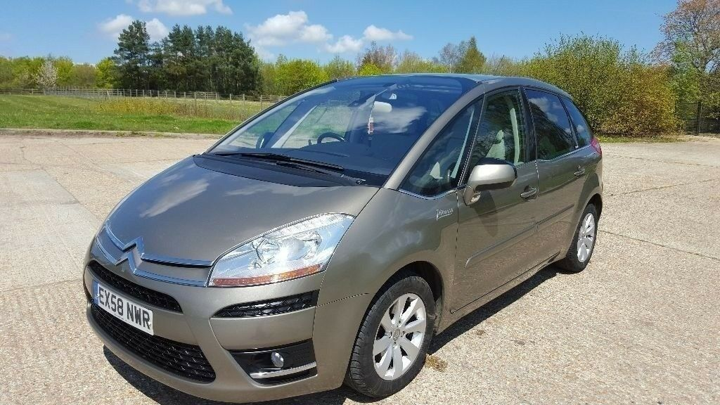 2008 citroen c4 picasso 2 0 hdi exclusive 5dr full service history in ashford kent gumtree. Black Bedroom Furniture Sets. Home Design Ideas