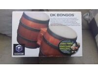Gamecube bongos with game