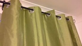 """PAIR of CURTAINS from """"Dreams and Drapes"""" AS NEW"""