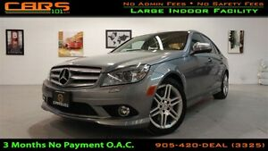 2009 Mercedes-Benz C-Class C350 4MATIC AMG | Bluetooth | Sunroof