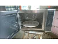 Sharp microwave grill and oven