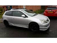 Honda civic type r type s alloy wheels with good tyer