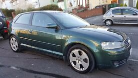 AUDI A3 SPORT QUATTRO 250BHP, 6 SPEED, XENONS, BOSE, excellent condition