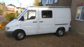 King Size comfort in a SWB Sprinter with a Long MOT