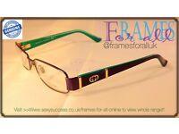 Glasses/Sunglasses Designer Frames - Gucci,D&G,Police,Guess and loads more brands - JOBLOT