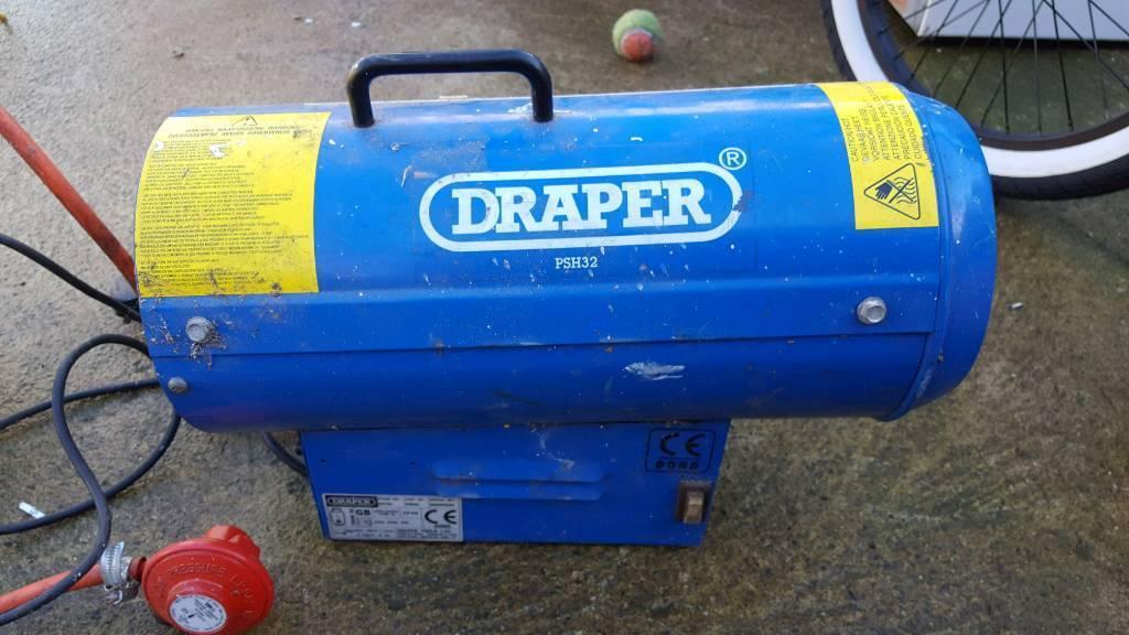 Draper space heater psh32