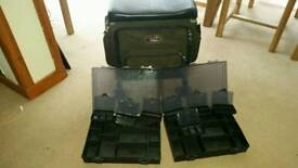 TFGear fishing box/seat