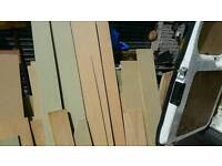 MDF and plywood loads to good to dump.