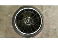"X1 Mercedes A Class W176 19"" Alloy Wheel Rim"