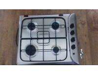 Indisit four burner gas hob