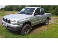 mazda b2500 / ford ranger wl 2.5 turbo 4x4 super cab / crew cab with MOT