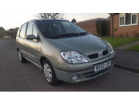 Renault Scenic Expression, FULL SERVICE HISTORY, MOT May 18 CHEAP RELIABLE CAR