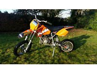 KTM 50 SX Senior Adventure Kids Motocross bike