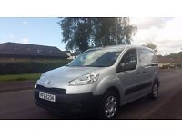 2013 Peugeot Partner 1.6 Hdi SE ** 3 SEATER / NO VAT / MINT VAN **