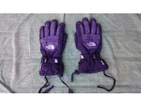 Genuine North Face ski gloves - Youth/Junior size Large