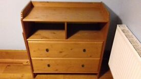 IKEA Leksvik Baby Changing Table / Chest of Drawers