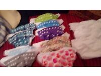reusable nappies with pads for sale
