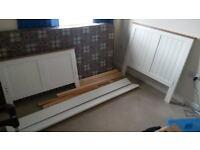 6 ft single bed & mattress