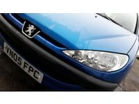 Peugeot 206, 5dr, 1.1L, Petrol, LOW MILEAGE, good service history, IDEAL FIRST CAR, cheap to insure