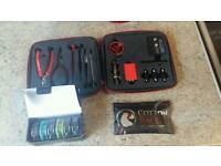 Coil master v2 kit with cotton and loads of wire