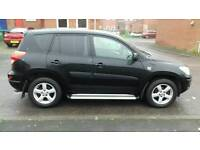 2007 Toyota RAV4 2.2 D-4D XT-R black in mint condition inside and outside