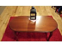 Old style wooden hall or coffee table