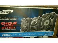 Samsung mini gift audio system