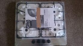 BOSCH PGP6B5B60 Gas Hob - Stainless Steel - SEALED