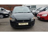Mitsubishi Colt 1.1 CZ1 5dr£1,295 p/x welcome CAT 2009 (59 reg), Hatchback