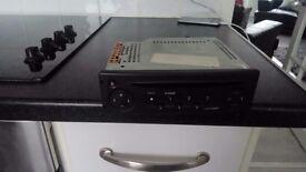 Car radio cd player taken off renault