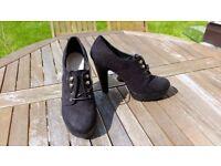 3 pairs of New Look heels, size 8, black
