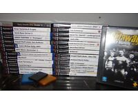 Collection of PS2 Games, excellent mix for many hours of fun!