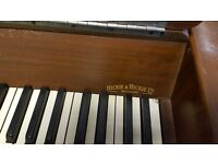 Hickie & Hickie Upright Piano - Art Deco Unique Design - FREE DELIVERY INCLUDED