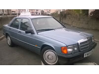 190 E mercedes 2.6 automatic rare car
