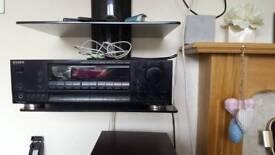 SONY Audio/video surround sound with speakers